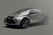 Lexus CT200 artist's impression