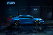Lynk & Co reveals 493bhp concept car based on TCR race car