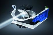 Audi A8 spotlight cutaway