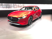 Mazda 3 2018 official reveal - LA show floor static front