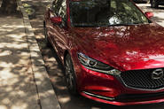 Mazda previews facelifted 6 saloon ahead of LA motor show