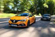 Hot hatch showdown: Renault Megane RS vs Honda Civic Type R