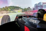 Aston Martin Red Bull Racing Valkyrie simulator