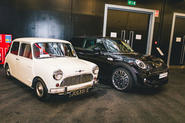 Autocar subscriber event at Mini Oxford plant - lead
