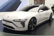 Nio ET preview - Shanghai Motor Show 2019 - front
