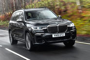 BMW X7 30d M Sport 2019 UK review - hero front