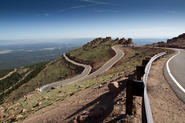 A guide to the top of the Pikes Peak Hill Climb with Romain Dumas