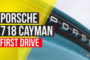 Porsche 718 Cayman Autocar video