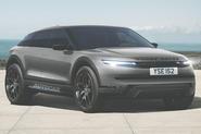 Range Rover EV render