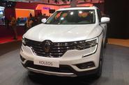 2017 Renault Koleos SUV shown in Paris