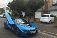 Renault Zoe and BMW i8