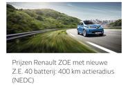 2017 Renault Zoe electric vehicle leaked