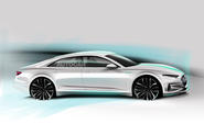 Audi A9 e-tron as imagined by Autocar