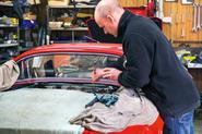 Repairing classic cars