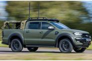 Ricardo Ford Ranger military vehicle - front