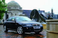 2004 Rover 75 press picture - front