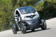 Renault Twizy action