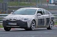 Vauxhall Insignia VXR spy shots