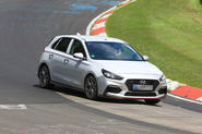 Hyundai i30 N-Line spotted ahead of summer launch