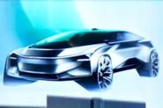 Faraday Future previews smaller electric SUV