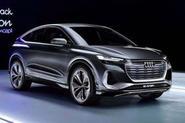 2020 Audi Q4 E-Tron Sportback - leaked front image