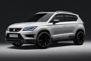 Seat Ateca Cupra as imagined by Autocar