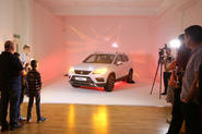 Families were given the chance to see the new SEAT Ateca