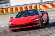 Ferrari SF90 Stradale 2020 first drive review - hero front