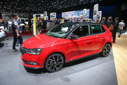 The Skoda Fabia has been shown at Geneva