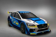 Subaru WRX STI Prodrive Isle of Man TT car