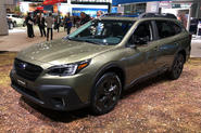 Subaru Outback 2019 New York Motor Show reveal - lead