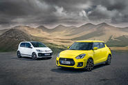 Suzuki Swift Sport vs Volkswagen Up GTI: twin test