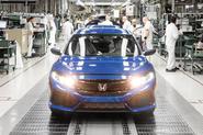 Honda Civic production line Swindon