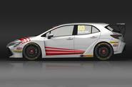 Toyota Corolla racer will carry Toyota Team GB branding