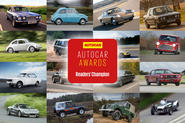 Autocar awards readers' champion - icon of icons
