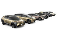 Toyota's future electric line-up