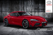 2019 Toyota Supra leaked - front image