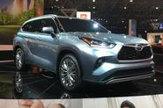 Toyota Highlander - New York Motor Show 2019 - lead