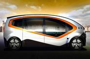 Fisker Orbit shuttle to use in-wheel motors