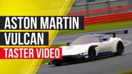 Aston Martin Vulcan video