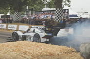 Pikes Peak record holder Volkswagen ID R takes to Goodwood hill