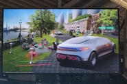 Mercedes-Benz in the city of the future