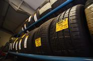New tyres on display