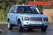 Range Rover gets a grilling