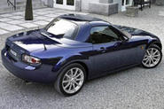 Mazda makes rain for MX-5 Roadster Coupe