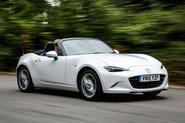 Here is the fourth-gen Mazda MX-5 - the definitive small sports car