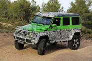 Mercedes confirms extreme G63 AMG 4x4 for 2015