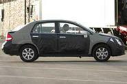 Next Nissan Almera spied in Spain