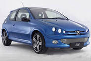 Peugeot mods the 206