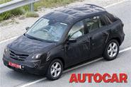 Renault's 4x4 caught on test